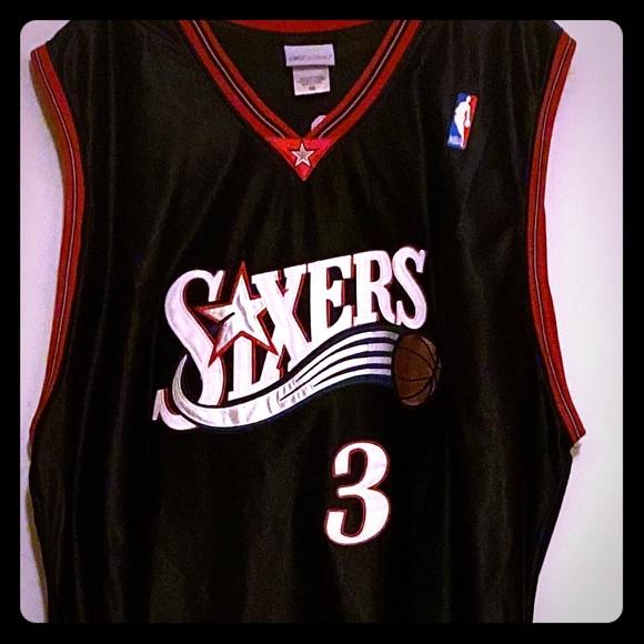 allen iverson sixers jersey